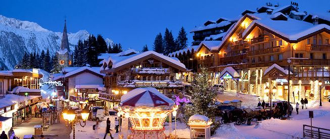 courchevel luxe chic station ski francaise chere