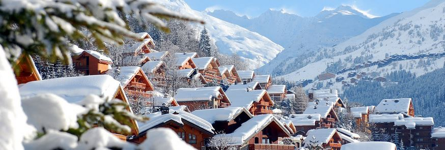 meribel village plus chic cher france