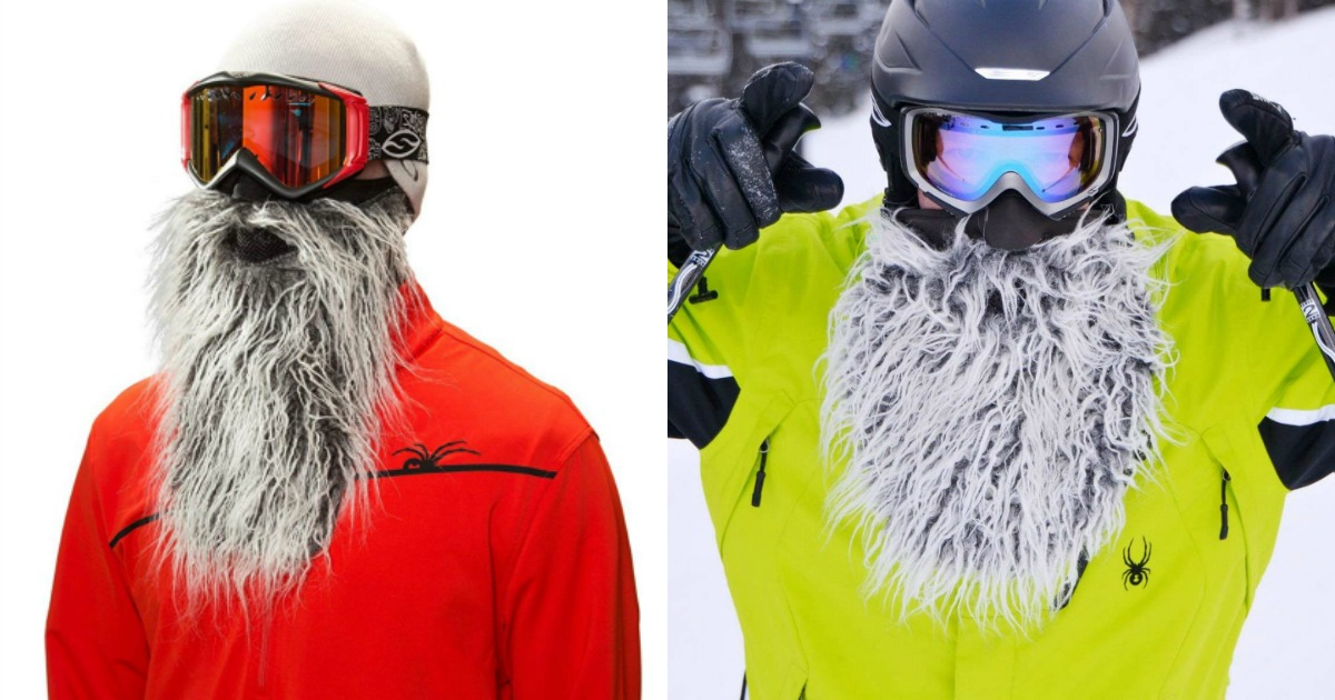 bonnet masque barbe ski